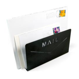 Mail letter standaard zwart