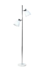 Staande lamp met 2 flexibele kappen