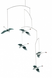 Flensted Mobiles Scandinavian Swans Mobile