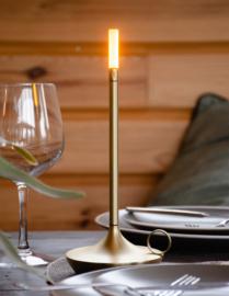 Graypants Wick portable lamp brass