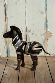 Zimba Arts Zebra naturel