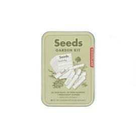 Kikkerland Seed Garden kit