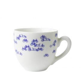 Heinen Blauwe Fiets set koffiemokken