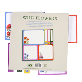 Rex London Wild Flowers sticky notes