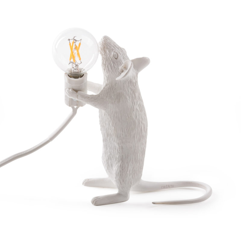 Mouse lamp standing wit
