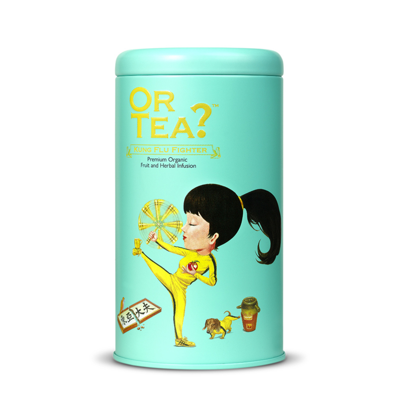Or tea? Organic Kung Flu Fighter losse thee
