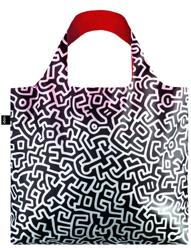 LOQI vouwtasje - Keith Haring