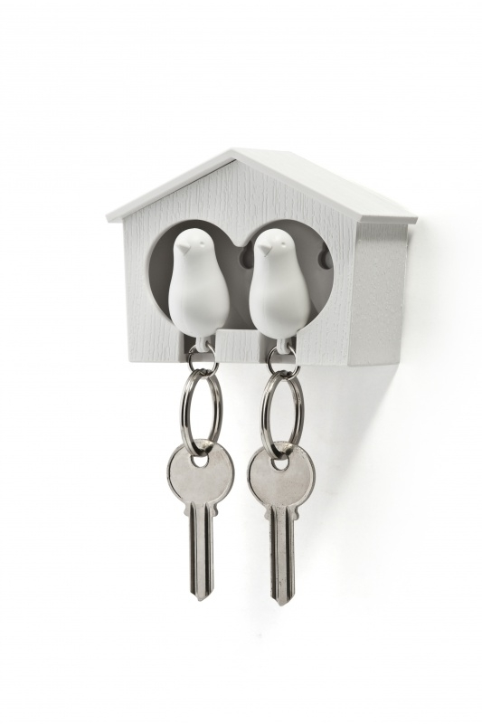 sparrow keyholder duo wit