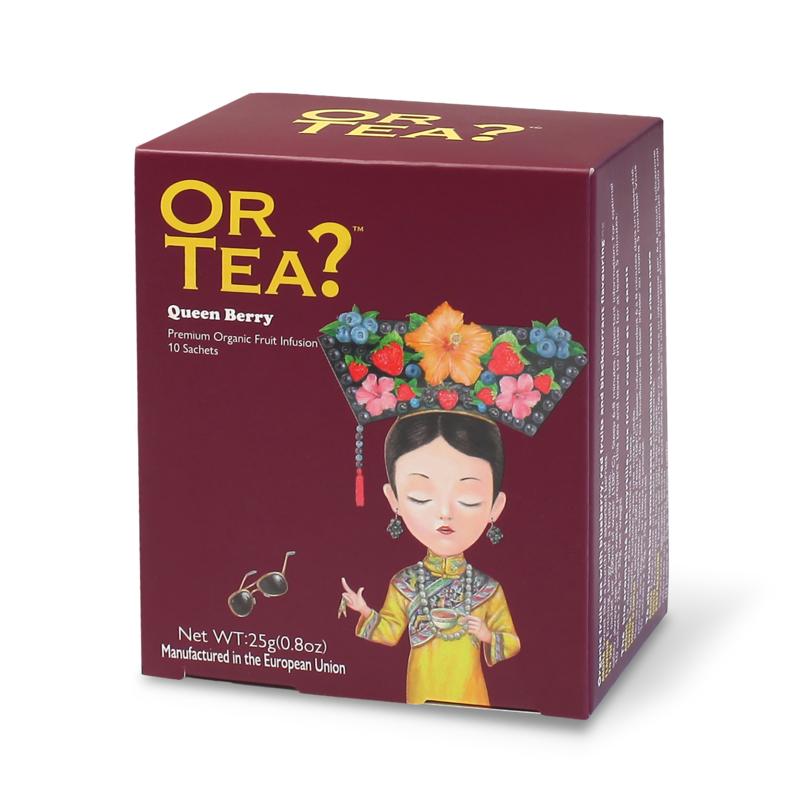 Or tea? Organic Queen Berry 10 bags
