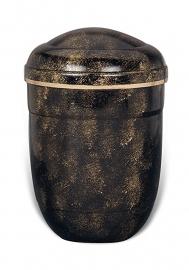 Zwart / gouden urn