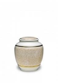 Porseleinen urn klein