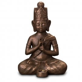 Boeddha Dainichi met waxine