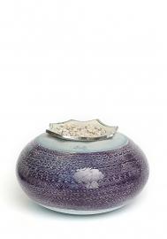 Flora oval purple