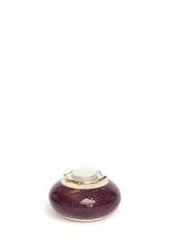 Flora oval aubergine