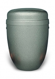 Gepatineerde aluminium urn