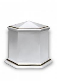 Porseleinen urn