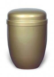 Eenvoudige urn goudkleurig