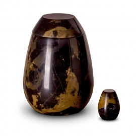 Marmeren urnen set