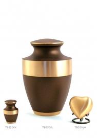 Bronzen urnen set