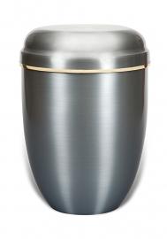 Aluminium urn met band