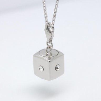 Assieraad Zilver met 4 Swarovski steentjes