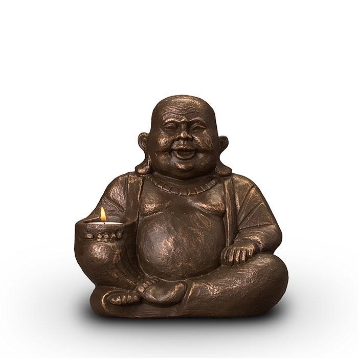 Boeddha met waxine
