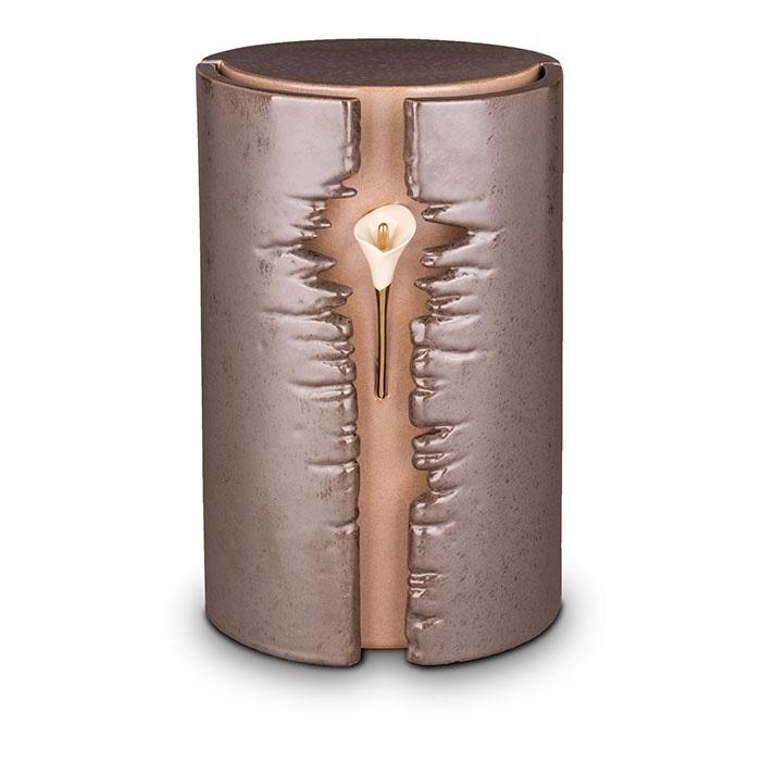 Keramische urn met LED verlichting