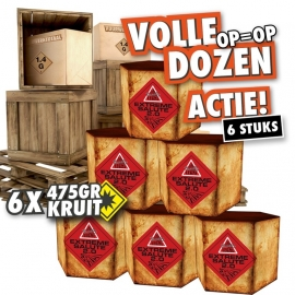 Extreme salute volle doos **