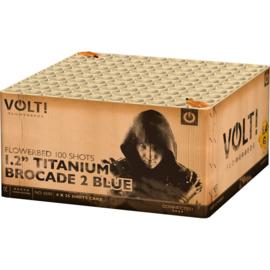 """Titanium Brocade 2 Blue 1.2"""" **"""