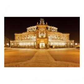 Vlies Fotobehang; Dresden Opera House (vanaf)