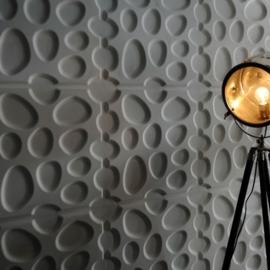 3D-Wandpaneel: Pebbles