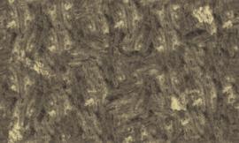 Concrete Ciré Behang 330778, zwart met goud