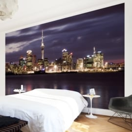 Vlies Fotobehang; Auckland at Night (vanaf)