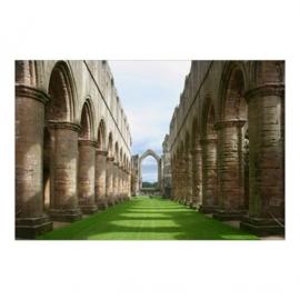 Vlies Fotobehang; Fountains Abbey (vanaf)