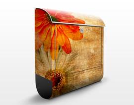 Brievenbus Vintage Flowermix