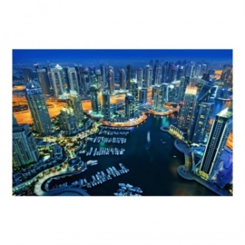Vlies Fotobehang; Dubai Marina (vanaf)