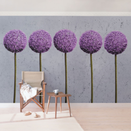 Vliesbehang Allium (vanaf)