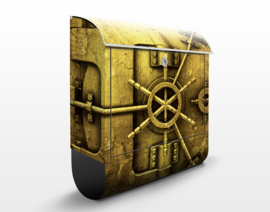 Brievenbus Golden Safe