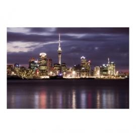 Vlies Fotobehang; Auckland at Night (vanaf)