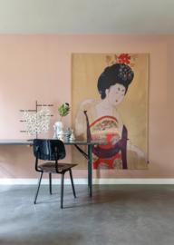 Wanddoek Geisha 130 x 185 cm