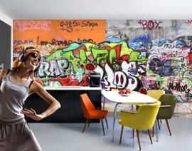 Vlies Fotobehang; Grafitti (vanaf)
