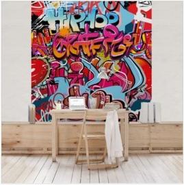 Vliesbehang HipHop Graffiti (vanaf)