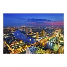 Vlies Fotobehang; Bangkok Skyline (vanaf)