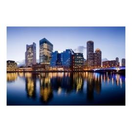 Vlies Fotobehang; Good Night Boston (vanaf)