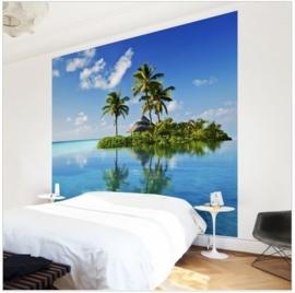 Vlies Fotobehang Tropisch Paradijs (vanaf)