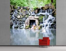 Vlies Fotobehang; Waterval (vanaf)