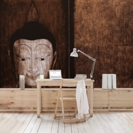 Vliesbehang Happy Buddha (vanaf)