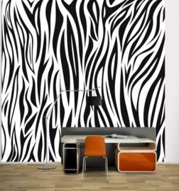 Vlies Fotobehang; Zebra Pattern (vanaf)