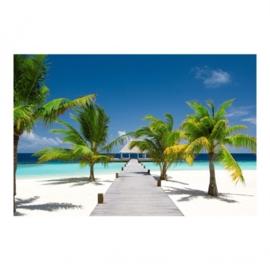 Vlies Fotobehang; Catwalk to Paradise (vanaf)