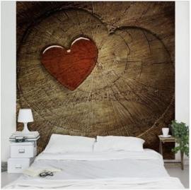 Vlies Fotobehang Natural Love (vanaf)